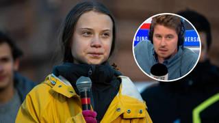 Irate caller blasts 'arrogant' Greta Thunberg for 'rude' manner of speech