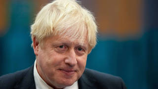 Boris Johnson said the Cop26 was going to be 'very tough'