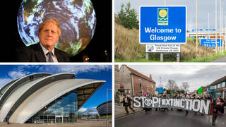 The UK-hosted conference will be held at the Scottish Event Campus in Glasgow, and will be attended by thousands of people including protestors