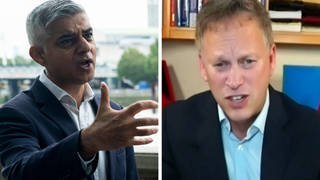 ULEZ: Transport Secretary Grant Shapps takes aim at Mayor of London Sadiq Khan