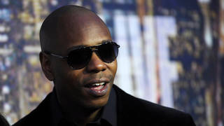 Dave Chappelle has been the centre of a transgender row