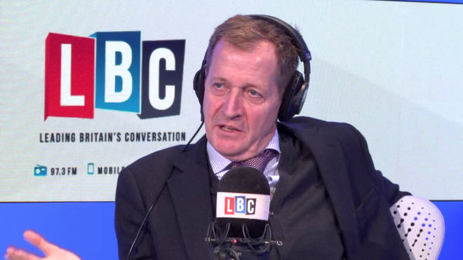 Alastair Campbell joined Eddie Mair on Thursday evening