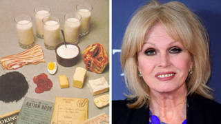 Joanna Lumley suggested wartime-style rationing to help solve the climate crisis