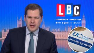 "Robert Jenrick told LBC reducing the taper rate for Universal Credit would be ""sensible"""