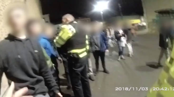 Police attacked by youths in Stanley, Durham