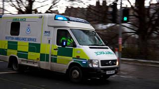 Scottish Ambulance Service has sent 10 crews to the scene of the crash.