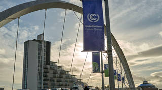 Glasgow is hosting the COP26 climate change summit.