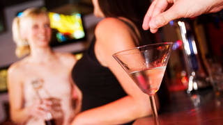The campaign is against rising cases of spiking in nightclubs and bars - both in drinks and by injection.
