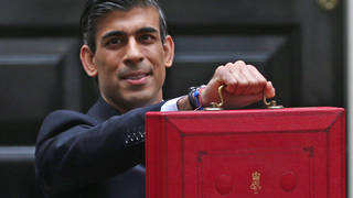 The Chancellor announced his Budget yesterday