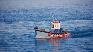 A British fishing trawler has been detained in France