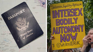 """The US has granted a passport with an """"X"""" gender recognition for a person who identifies as intersex"""