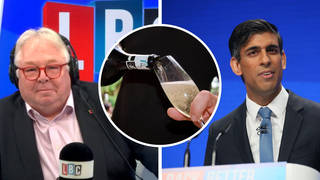 Chancellor Rishi Sunak has defended cutting the price of a bottle of Prosecco