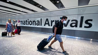 All countries have been removed from England's travel red list.