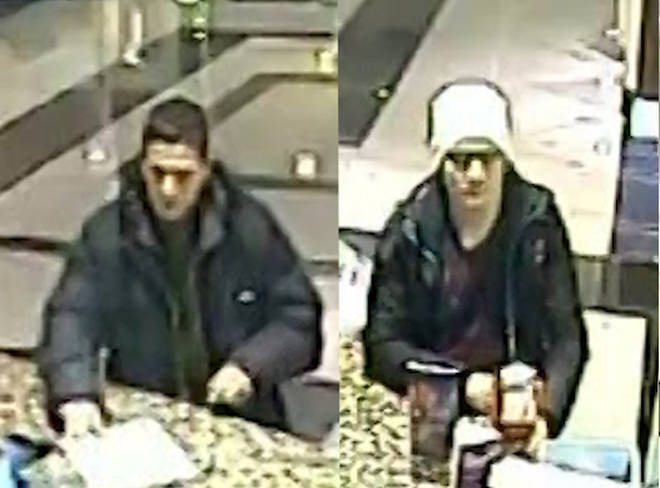 These are the two men police are trying to identify
