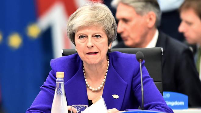 Theresa May at the Argentina G20 Leaders' Summit 2018