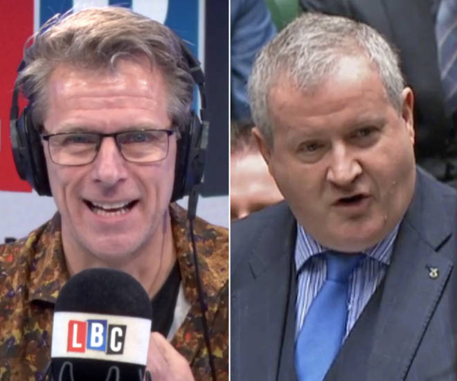 Ian Blackford tells Andrew Castle that an independence referendum could be an option for Scotland if Brexit happens