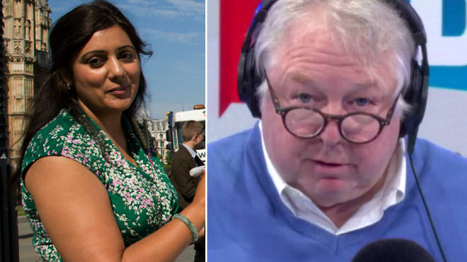 Nick Ferrari's interview with Nusrat Ghani was very awkward