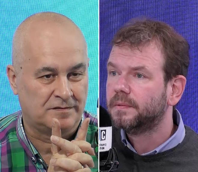 Iain Dale grilled James O'Brien for the first time