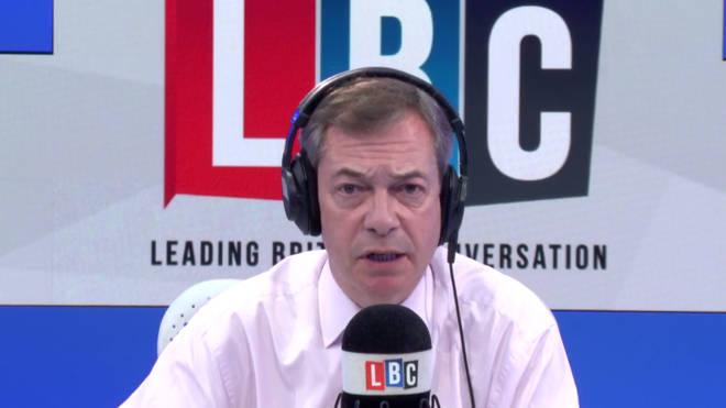 Nigel Farage gave his latest take on Ukip on Monday night