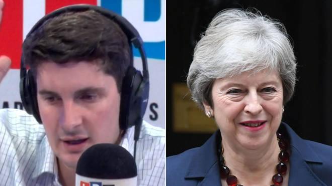 Tom Swarbrick Theresa May