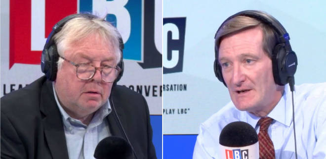 Nick Ferrari grilled Tory rebel Dominic Grieve