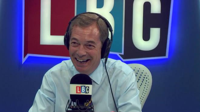 Nigel Farage Caller Chris