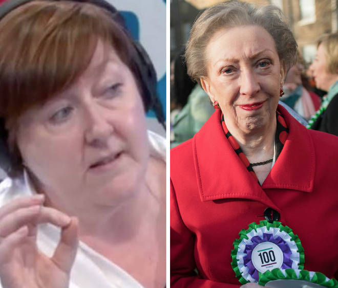 Margaret Beckett slammed Theresa May in an interview with Shelagh Fogarty