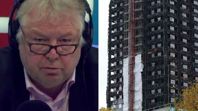 Nick Ferrari spoke to the chairman of the unofficial Grenfell inquiry