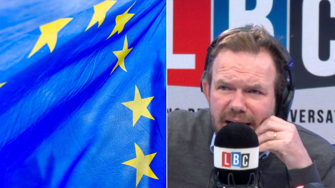 James O'Brien EU Flag