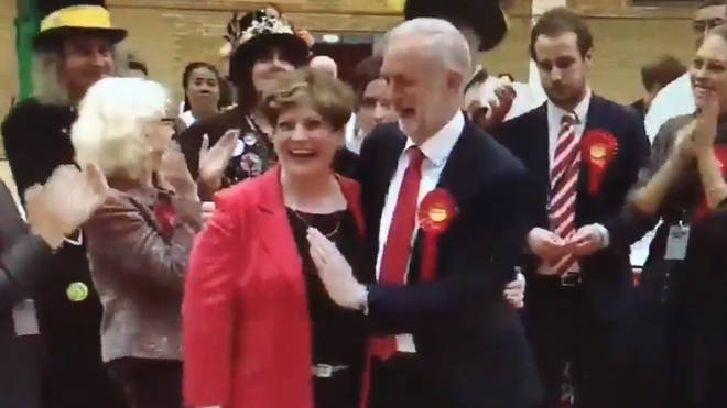 Corbyn Thrornberry high five