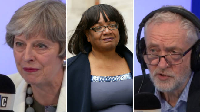 Theresa May, Diane Abbott and Jeremy Corbyn all appear in our Interviews of the Year