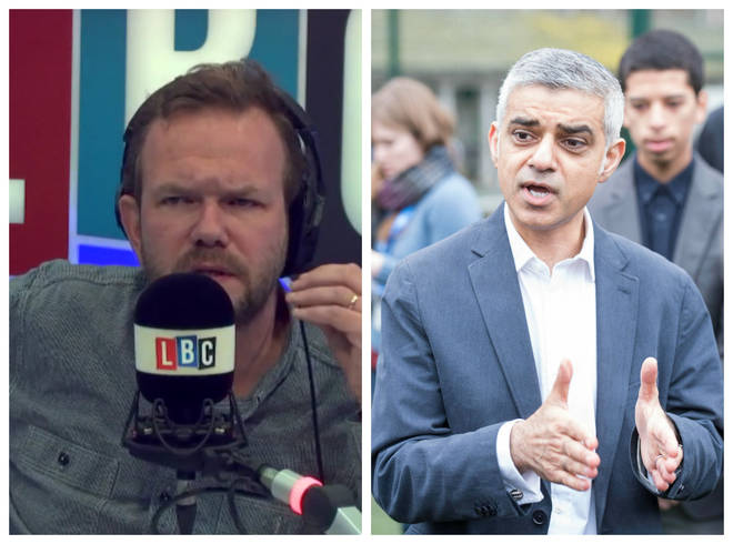 James O'Brien Sadiq Khan