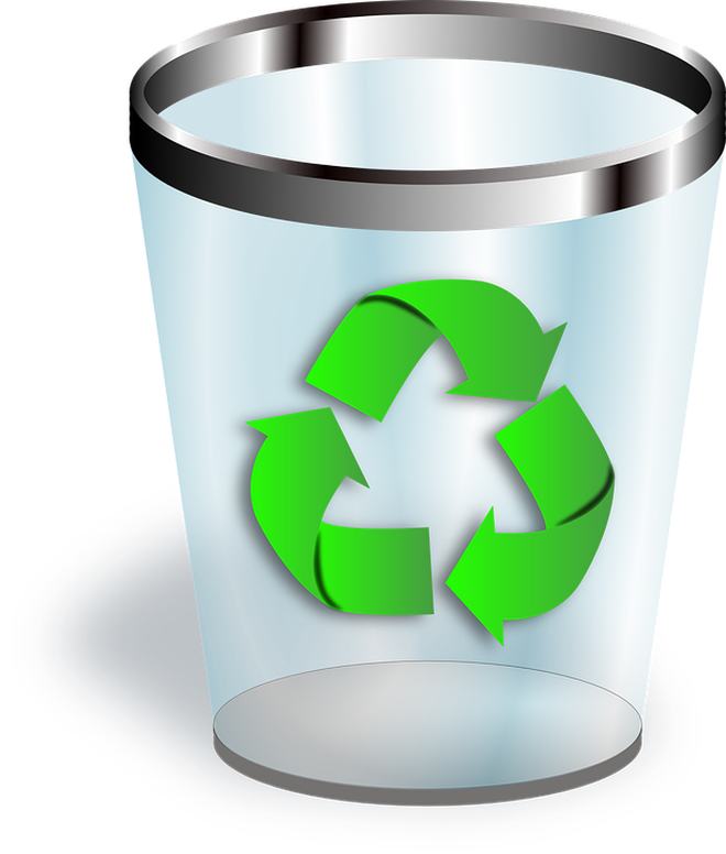 Recycle Bin on Computer
