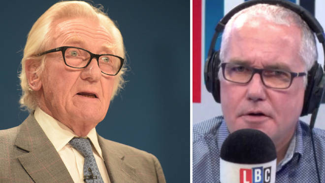 "Lord Heseltine claims ""a lot of elderly Brexiteers have died"""