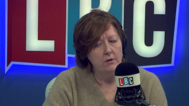 Shelagh had strong words for caller Maria