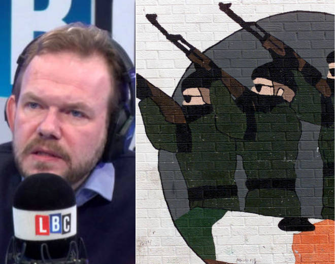 Martin's call left James O'Brien's listeners very emotional