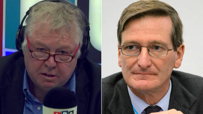 Nick Ferrari had tough words for Dominic Grieve