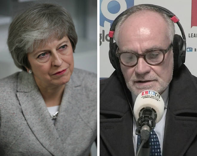 Crispin Blunt told LBC some Tory MPs feared Theresa May would find out if they submitted a letter