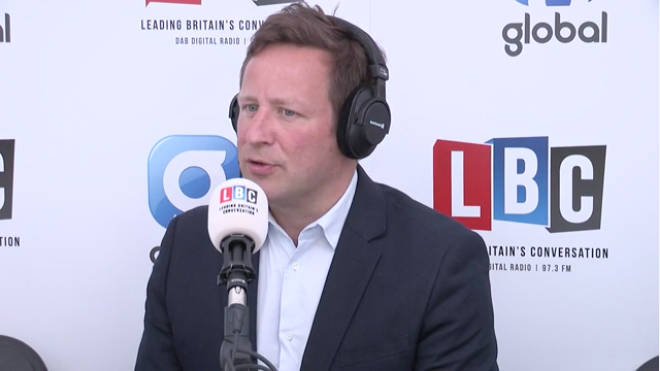 Ed Vaizey, speaking on LBC