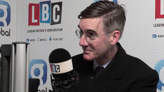 Jacob Rees-Mogg spoke to LBC live from Westminster