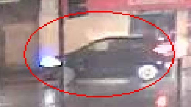 Police want to trace the driver of this SUV - possibly a Vauxhall