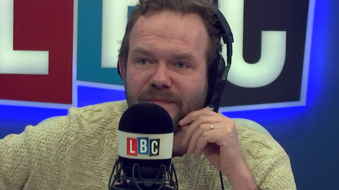James O'Brien got emotional when discussing a Brexit ceasefire