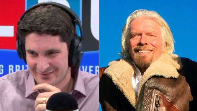 Tom Swarbrick Richard Branson