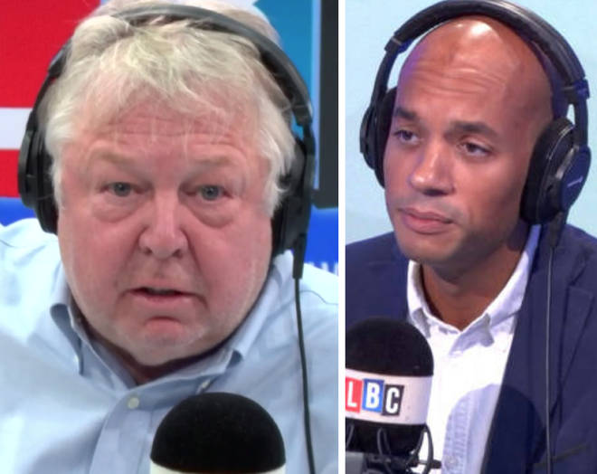 Nick Ferrari grilled Chuka Umunna over his calls for a second referendum