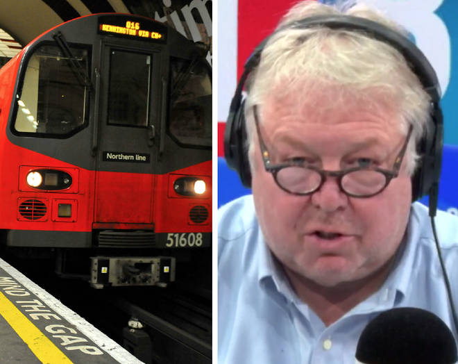 Nick Ferrari took on a campaigner who defended some Tube drivers earning £100k