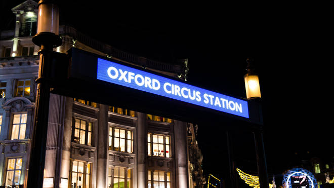 Oxford Circus underground station will be busy during the strike action