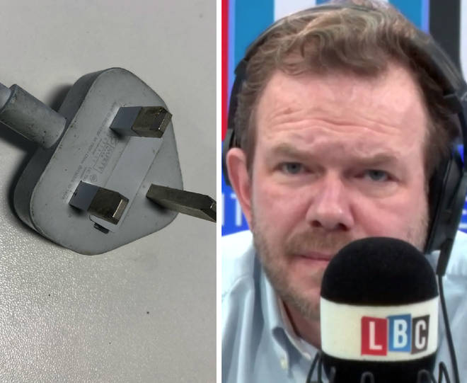 James O'Brien's caller says he voted Brexit because of the three-pin plug