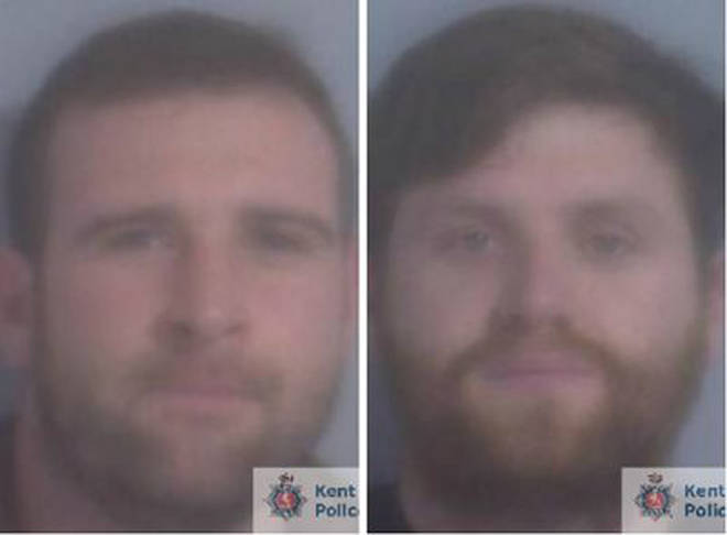 Warren Hearne (left) and Danny Frost from Romney Marsh have both been jailed