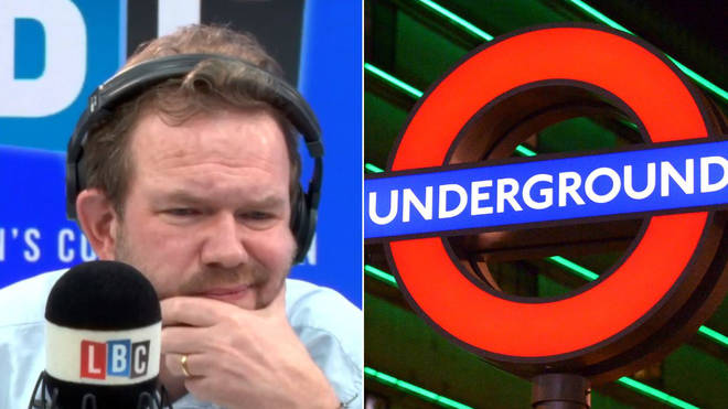 James O'Brien London Underground