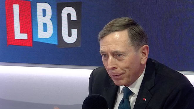 General David Petraeus spoke to Iain Dale